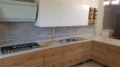 Cucina  rovere e bianco_1